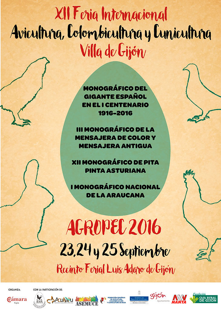 Cartel XII Feria Internacional – AGROPEC 2016