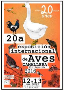 20 Exposición Internacional de Aves - Camallera 2016 @ Camallera - Alt Empordà | Camallera | Catalunya | España