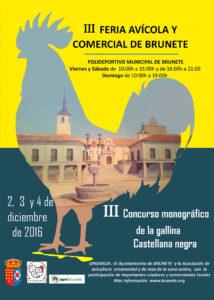 III Feria Avículo y Comercial de Brunete @ Polideportivo Municipal de Brunete | Brunete | Comunidad de Madrid | España