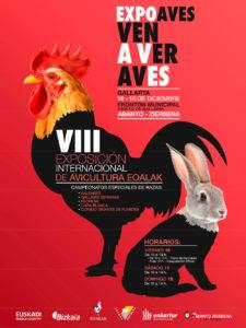 VIII Exposición Internacional de Avicultura EOALAK @ Frontón Municipal Txikito de Gallarta