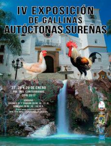 IV Exposición de Gallinas Autóctonas Sureñas @ Pol. Ind. Cantarranas Coín 2017