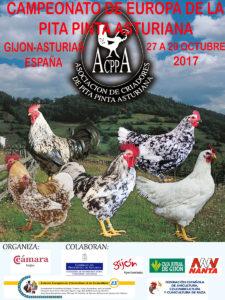 Campeonato de Europa de la Pita Pinta Asturiana