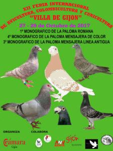 "XII Feria Internacional de Avicultura, Colombicultura y Cunicultura ""Villa de Gijón"""