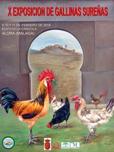X Exposición de Gallinas Sureñas @ Alora (Málaga)