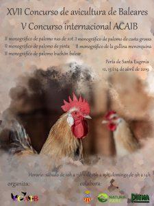 XVII Concurso de avicultura de Baleares /  V Concurso internacional ACAIB @ Medina-Sidonia | Andalucía | España