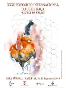 """XXXII Exposició Internacional d'Aus de Raça """"Ciutat de Valls"""" @ Sala Kursaal"""