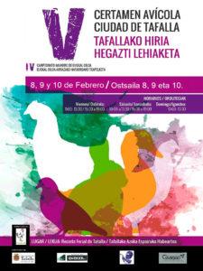 V Certamen Avícola Ciudad de Tafalla @ Reciento Ferial de Tafalla