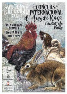 """XXXIII Exposició Internacional d'Aus de Raça """"Ciutat de Valls"""" @ Sala Kursaal"""